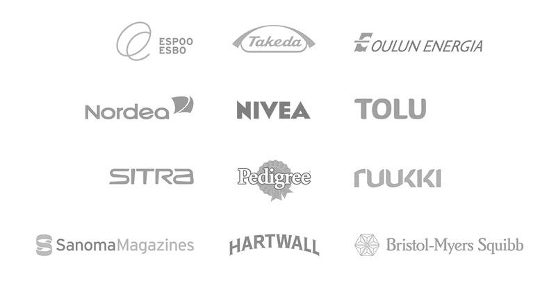 Julma design aikaisempia asiakkaita