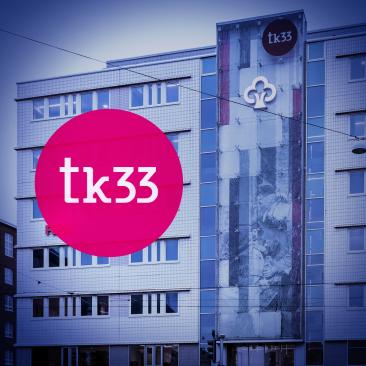 tk33 -kiinteistön graafinen ilme