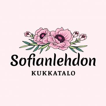 Sofianlehdon kukkatalon logo